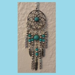 Jewelry - Dreamcatcher Pendant Necklace 28""
